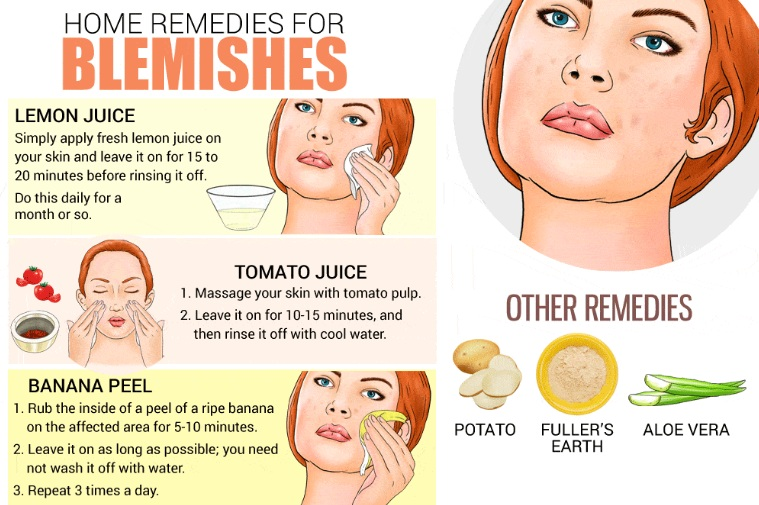 remove skin blemishes