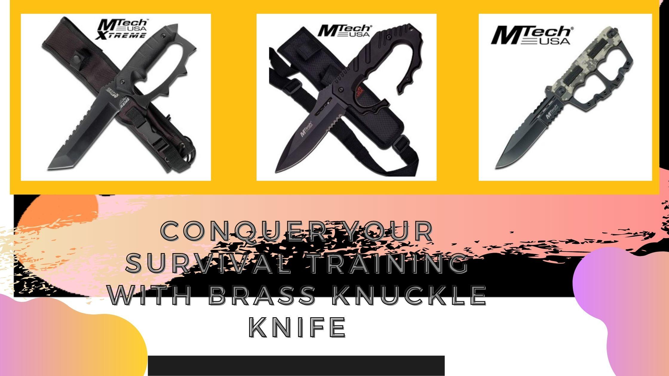 Brass KnuckleKnife
