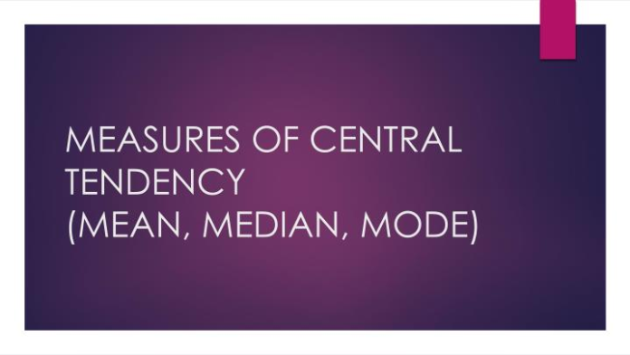 How to work Mean Median Mode Range Calculator online