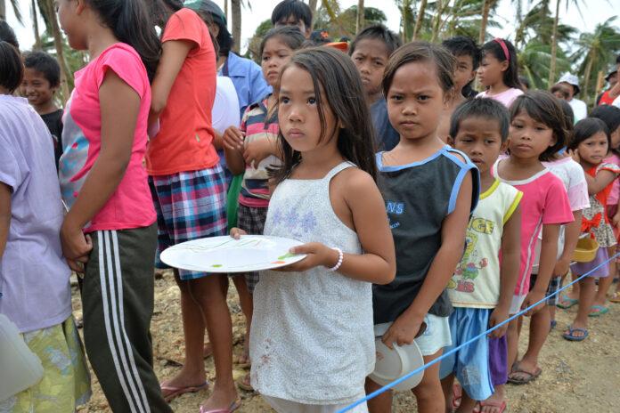disaster affecting children